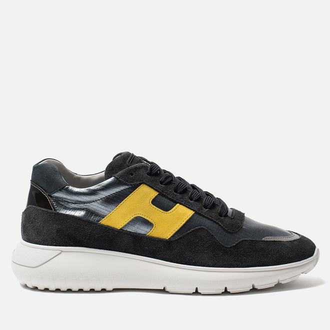 Мужские кроссовки Hogan Interactive 3 Silver/Yellow/Black