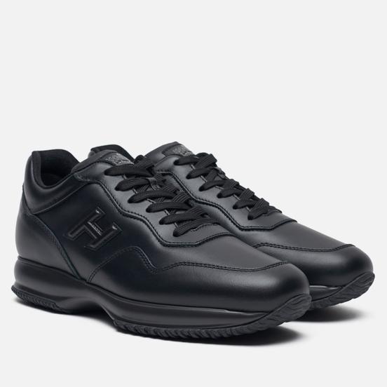 Мужские кроссовки Hogan Interactive Leather Black