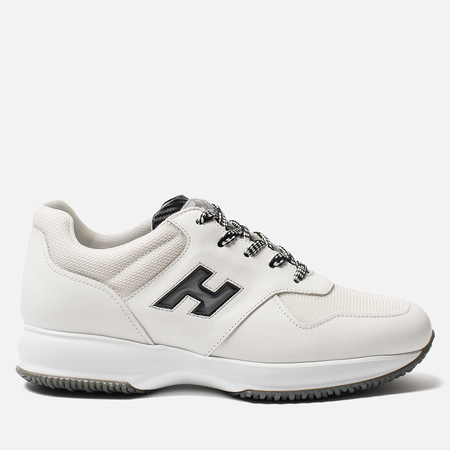 Мужские кроссовки Hogan Interactive Suede White/Black