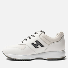 Мужские кроссовки Hogan Interactive Suede White/Black фото- 5