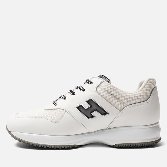 Мужские кроссовки Hogan Interactive Suede White/Black