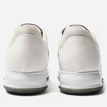 Мужские кроссовки Hogan Interactive Suede White/Black фото- 2