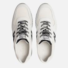 Мужские кроссовки Hogan Interactive Suede White/Black фото- 1