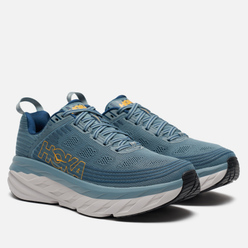 Мужские кроссовки Hoka One One Bondi 6 Lead/Majolica Blue