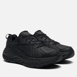 Мужские кроссовки Hoka One One Bondi Leather Black