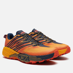 Мужские кроссовки Hoka One One Speedgoat 4 Gold Fusion/Black Iris