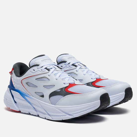 Мужские кроссовки Hoka One One x Opening Ceremony Clifton White/True Blue