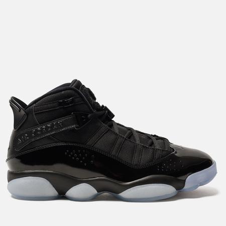 Мужские кроссовки Jordan 6 Rings Black/Black/White
