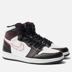 Мужские кроссовки Jordan Air Jordan 1 High OG Defiant Black/Tour Yellow/White/Gym Red