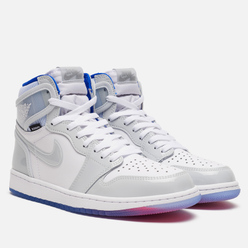 Мужские кроссовки Jordan Air Jordan 1 High Zoom Air White/White/Racer Blue