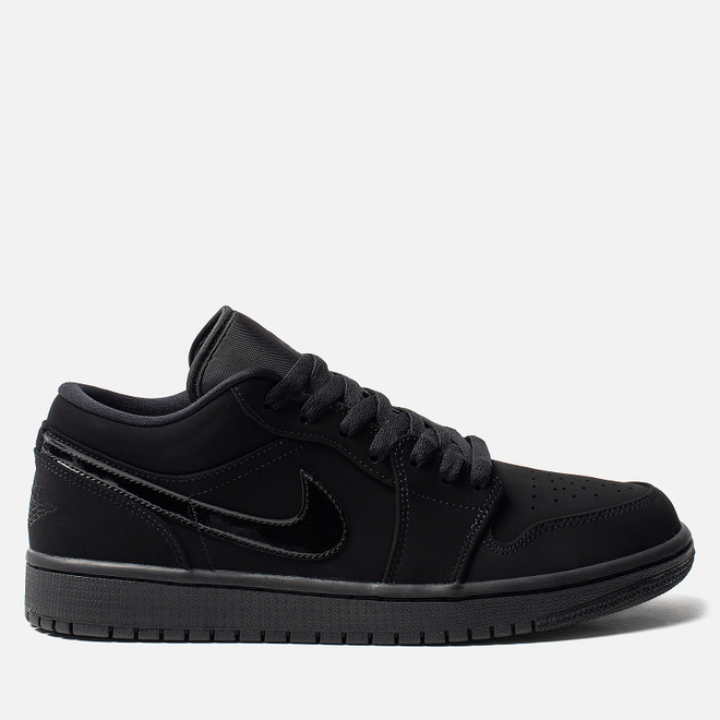 Мужские кроссовки Jordan Air Jordan 1 Low Black/Black/Black