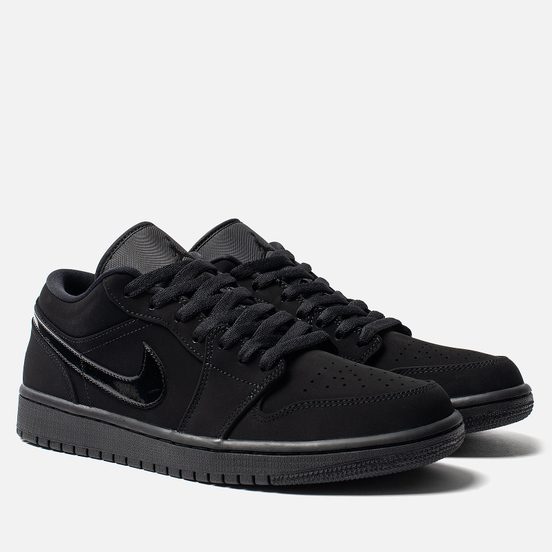 Мужские кроссовки Jordan Air Jordan 1 Low Black/Black/Black