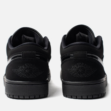 Мужские кроссовки Jordan Air Jordan 1 Low Black/Black/Black фото- 2