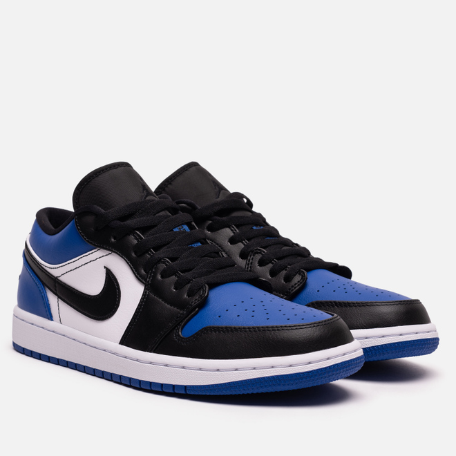 Мужские кроссовки Jordan Air Jordan 1 Low Royal Toe Sport Royal/Black/White