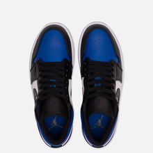 Мужские кроссовки Jordan Air Jordan 1 Low Royal Toe Sport Royal/Black/White фото- 1