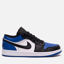 Мужские кроссовки Jordan Air Jordan 1 Low Royal Toe Sport Royal/Black/White фото- 3