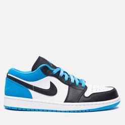 Мужские кроссовки Jordan Air Jordan 1 Low SE Black/Black/Laser Blue/White