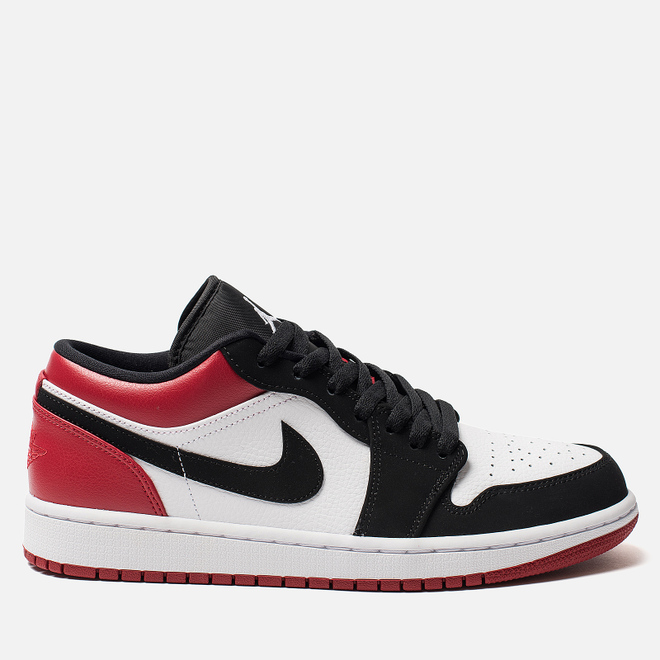 Мужские кроссовки Jordan Air Jordan 1 Low White/Black/Gym Red