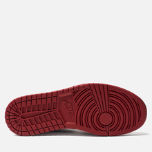 Мужские кроссовки Jordan Air Jordan 1 Low White/Black/Gym Red фото- 4