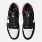 Мужские кроссовки Jordan Air Jordan 1 Low White/Black/Gym Red фото - 1