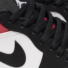 Мужские кроссовки Jordan Air Jordan 1 Low White/Black/Gym Red фото- 6