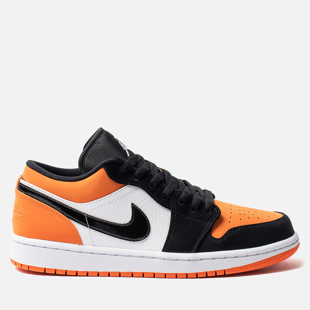 Мужские кроссовки Jordan Air Jordan 1 Low White/Black/Starfish