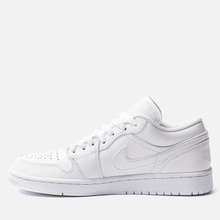 Мужские кроссовки Jordan Air Jordan 1 Low White/White/White фото- 5