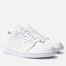 Мужские кроссовки Jordan Air Jordan 1 Low White/White/White фото- 0