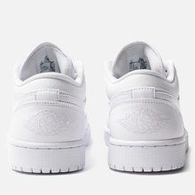Мужские кроссовки Jordan Air Jordan 1 Low White/White/White фото- 2