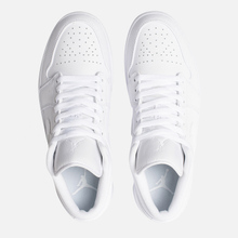 Мужские кроссовки Jordan Air Jordan 1 Low White/White/White фото- 1