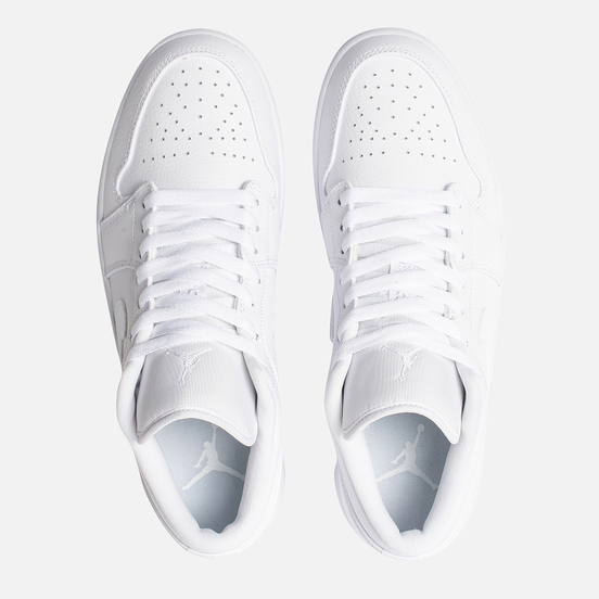 Мужские кроссовки Jordan Air Jordan 1 Low White/White/White