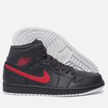 Мужские кроссовки Jordan Air Jordan 1 Mid Anthracite/Gym Red/White фото- 2