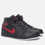 Мужские кроссовки Jordan Air Jordan 1 Mid Anthracite/Gym Red/White фото- 1