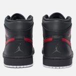 Мужские кроссовки Jordan Air Jordan 1 Mid Anthracite/Gym Red/White фото- 3
