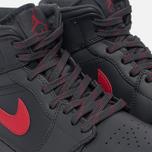 Мужские кроссовки Jordan Air Jordan 1 Mid Anthracite/Gym Red/White фото- 5