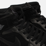 Мужские кроссовки Jordan Air Jordan 1 Mid Black/Dark Grey/Black фото- 3