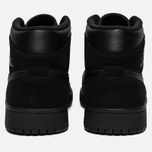 Мужские кроссовки Jordan Air Jordan 1 Mid Black/Dark Grey/Black фото- 5