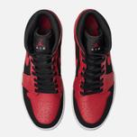 Мужские кроссовки Jordan Air Jordan 1 Mid Black/Gym Red/White фото- 5