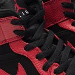 Мужские кроссовки Jordan Air Jordan 1 Mid Black/Gym Red/White фото- 6