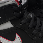 Мужские кроссовки Jordan Air Jordan 1 Mid Black/Particle Grey/White/Gym Red фото- 3
