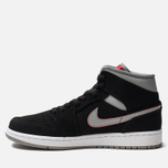 Мужские кроссовки Jordan Air Jordan 1 Mid Black/Particle Grey/White/Gym Red фото- 4