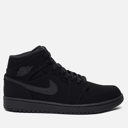 Мужские кроссовки Jordan Air Jordan 1 Mid Black/White/Black