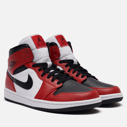 Мужские кроссовки Jordan Air Jordan 1 Mid Chicago Toe Black/Black/Gym Red