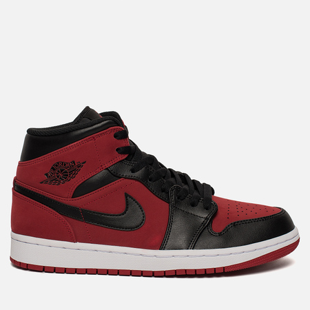 Мужские кроссовки Jordan Air Jordan 1 Mid Gym Red/Black/White