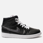 Мужские кроссовки Jordan Air Jordan 1 Mid SE Black/Black/White фото- 0