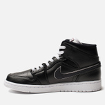 Мужские кроссовки Jordan Air Jordan 1 Mid SE Black/Black/White фото- 1