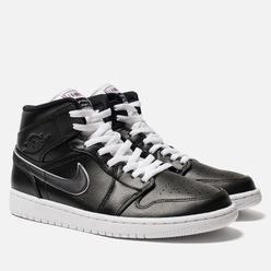 Мужские кроссовки Jordan Air Jordan 1 Mid SE Black/Black/White