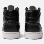 Мужские кроссовки Jordan Air Jordan 1 Mid SE Black/Black/White фото- 3