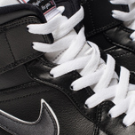 Мужские кроссовки Jordan Air Jordan 1 Mid SE Black/Black/White фото- 6