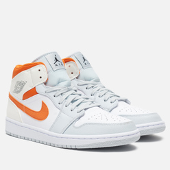 Мужские кроссовки Jordan Air Jordan 1 Mid SE White/Starfish/Pure Platinum/Sail